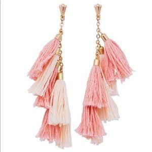 NWT Ettika Daydreamer Tassel Earrings